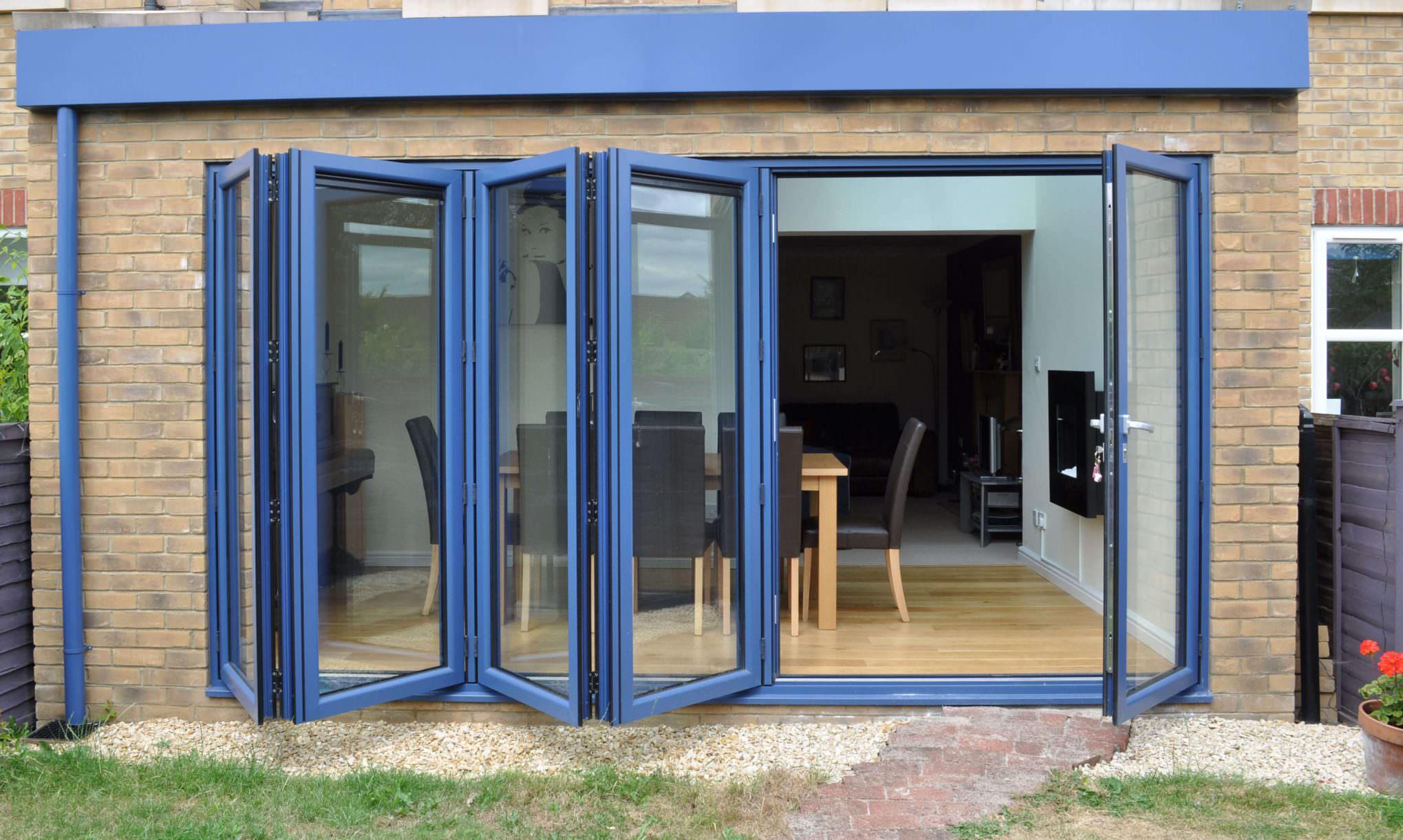 Aluminium Bi-Fold Doors Lincoln