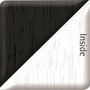 Black Ash/Heritage White