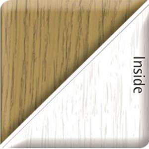 English Oak/Heritage White