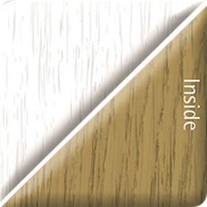 Heritage White/English Oak