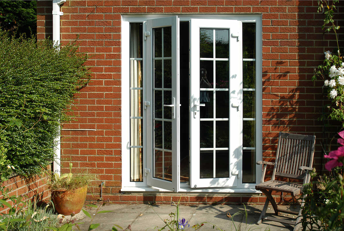 upvc french doors in nottingham lincoln