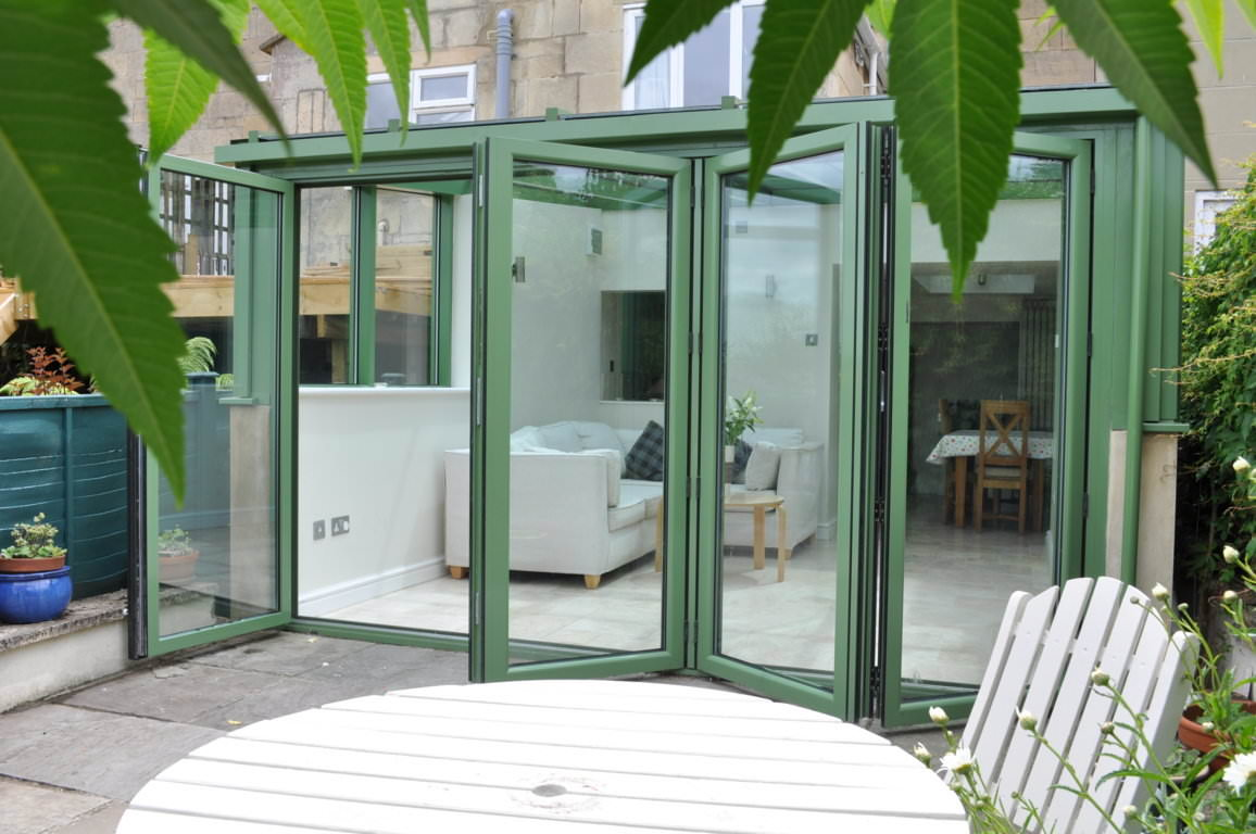 Bi-Fold Doors in a selection of colours