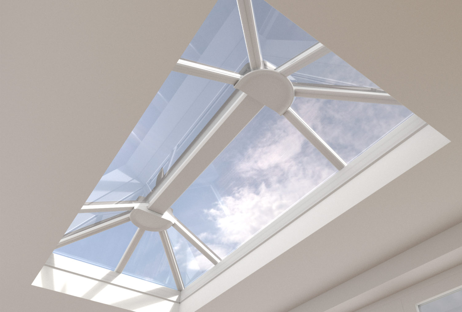 Lantern roof lights Lincoln