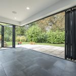 corner bifolds from inside