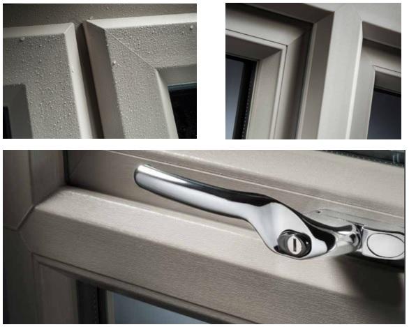 2500 upvc windows profile