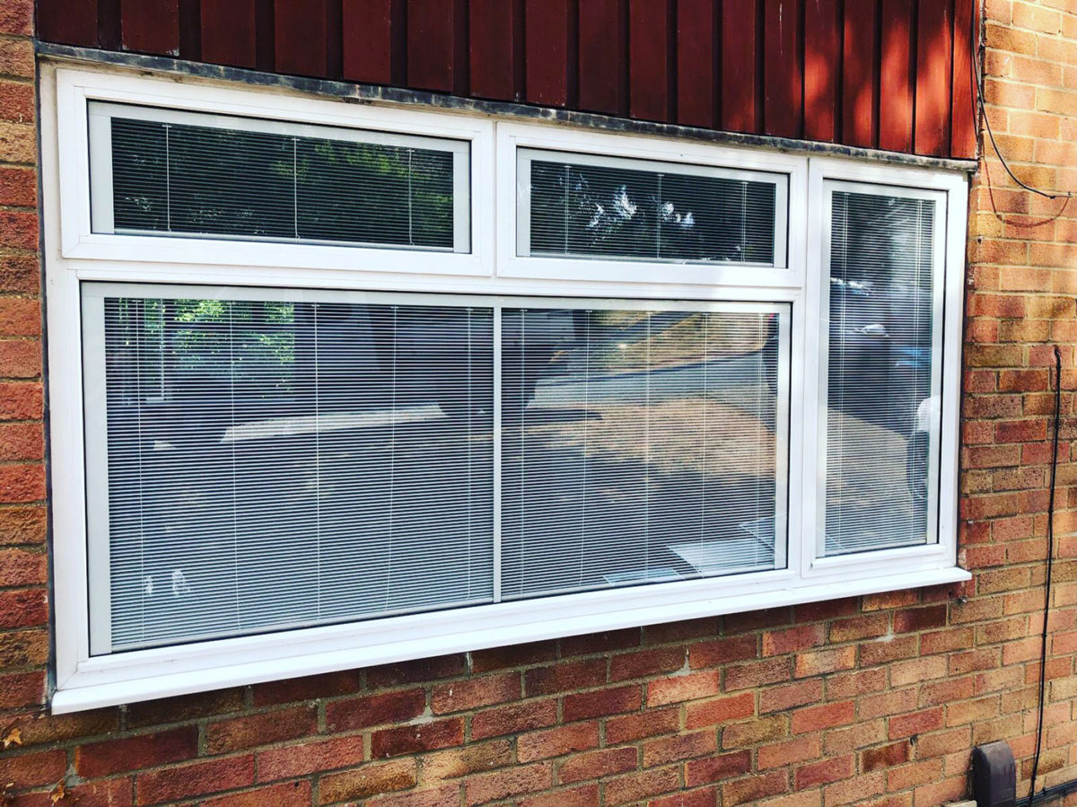 Windows With built in blinds Lincoln