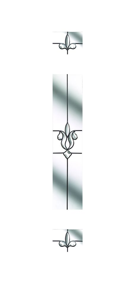 Composite Door Glass- Designer Etch Clear