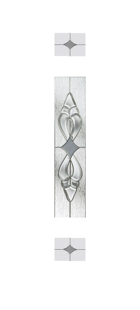 Composite Door Glass- Thorncliffe Grey