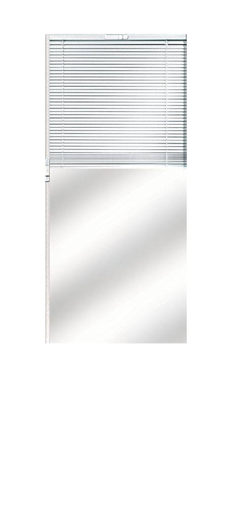Composite Door Glass- Venetian Blind LH