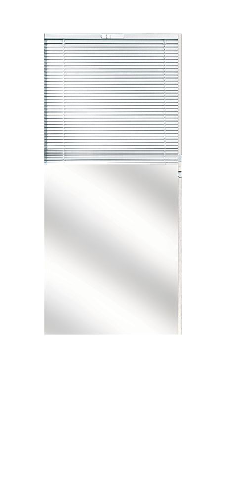 Composite Door Glass- Venetian Blind RH