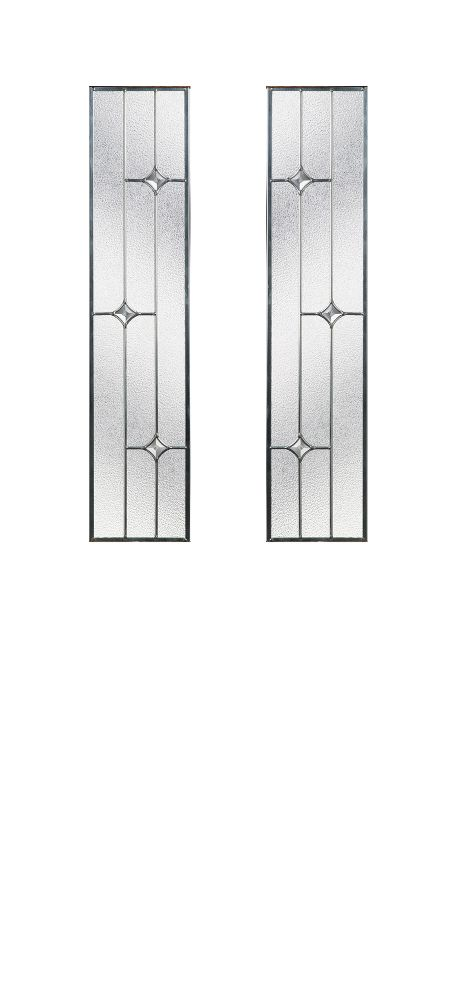 Composite Door Glass- Zinc Art Star