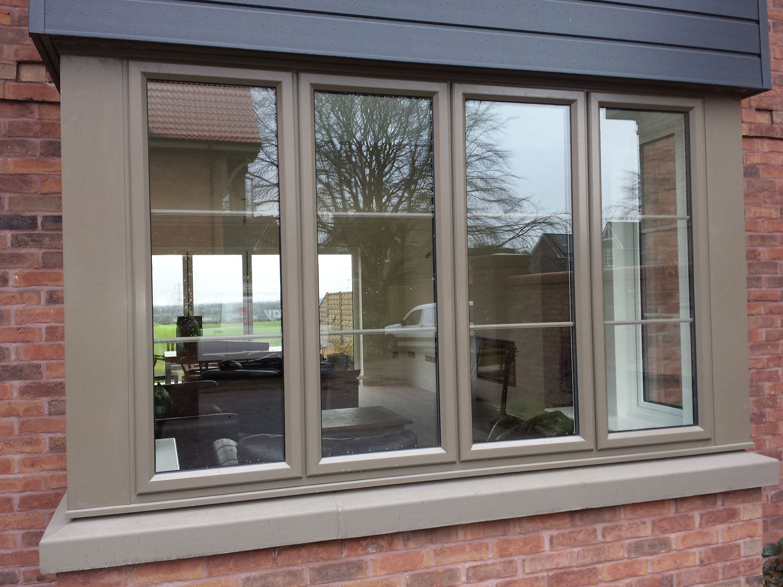 aluminium window frames lincoln