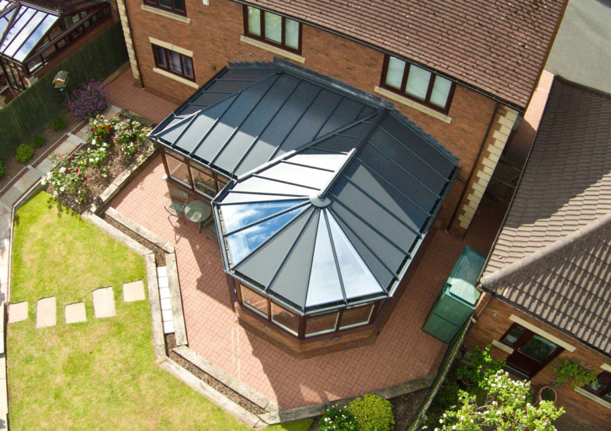 Solid Roof Conservatory Lincoln